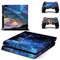 Linyuan 安定した品質 Skin Sticker Vinyl Decal Cover ステッカー for PlayStation 4 PS4 Console+Controllers ZY0133