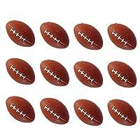 ラグビーボール 12個 ミニスポーツボール おもちゃ スクイズボール 解消用おもちゃボール 子供ギフト