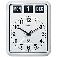 TWEMCO (トゥエンコ) 電波掛け時計 パーペチュアルカレンダー機能 RC-12A White