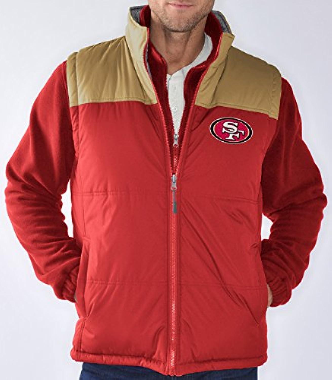 San Francisco 49ers NFL「テールゲート」システム4 - in - 1 Heavyweightパフォーマンスジャケット