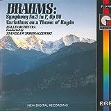 ブラームス:交響曲第3番 他