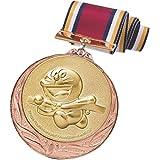 ドラえもん メダル 銅 ランナー 直径70mm 日本製 DRZ-2005C