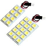 【断トツ69発!!】 L900/910系 ムーヴ(ムーブ) LED ルームランプ 2点セット [H10.10~H14.9] ダイハツ 基板タイプ 圧倒的な発光数 3chip SMD LED 仕様 室内灯 カー用品 HJO