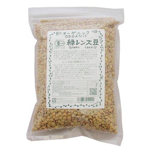 桜井食品 オーガニック 緑レンズ豆 500g