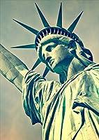 igsticker ポスター ウォールステッカー シール式ステッカー 飾り 1030×1456㎜ B0 写真 フォト 壁 インテリア おしゃれ 剥がせる wall sticker poster 012936 自由の女神 写真 ニューヨーク