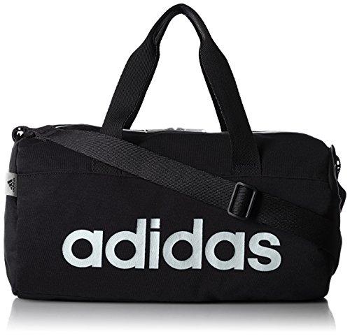 [アディダス] adidas ボストンバッグ 17L スウェット素材 47425 47425 01 (ブラック)