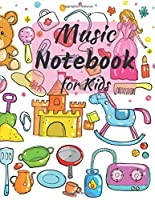 Music Notebook for Kids: Blank Sheet Music: Music Manuscript Paper / Staff Paper / Musicians Notebook (Composition Books - Music Manuscript Paper) 110 pages 13 stave per page. Perfect for Songwriting, Theory, Composition and Learning