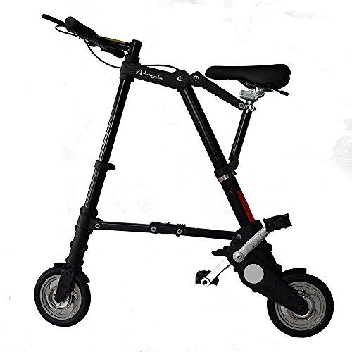 ミニ折りたたみ自転車 (ブラック)