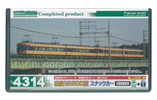 Nゲージ 4314 近鉄12200系スナックカー初期車 更新車 先頭車2両セット (動力付き)