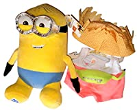Build a Bear Minions Dave 2 pc。Tourist Outfit 14で。怪盗グルーの月泥棒3 Movie Plush Toy