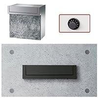 郵便ポスト 口金MS型 2B-5 ブラックダイヤル錠 壁埋込式 Panasonic パナソニック