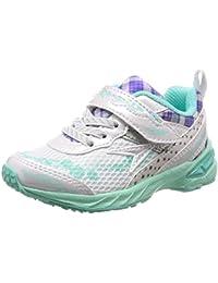 [シュンソク] 運動靴 通学履き 瞬足 大型スパイク 軽量 V8 15~23cm 2.5E キッズ 女の子