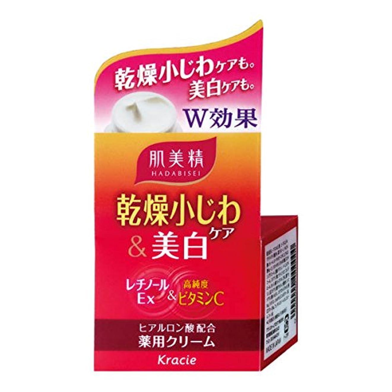 排除する暖かく綺麗な肌美精 乾燥小じわケア&美白 薬用クリーム 50g 【医薬部外品】