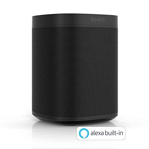 Sonos ボイスコントロール対応 スマートスピーカー Amazon Alexa搭載 ブラック B07HSBKTFH 1枚目