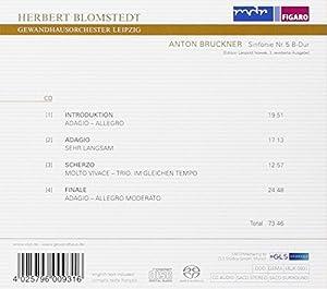 ブルックナー:交響曲第5番変ホ長調(ノヴァーク版)
