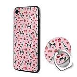 Great Dane Valentines Iphone 6/6s ケース リング付き フロッグ アイフォン シリコン 衝撃防止 Apple iphone 6/6S ケース おしゃれ 軽..