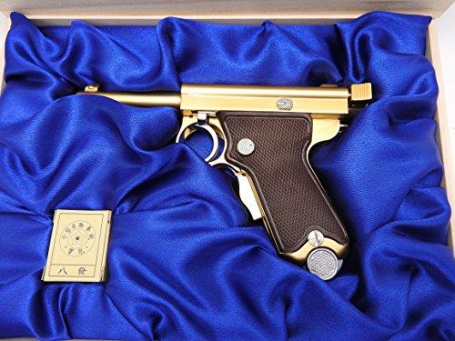 マルシン 南部式小型自動拳銃 ベビーナンブ ダミーカート モデルガン 桐箱付 東京ガス電気刻印