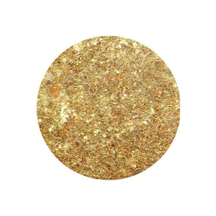 ワームやりがいのあるベールピカエース クリスタルパール L #432-CKL ゴールド 0.5g アート材