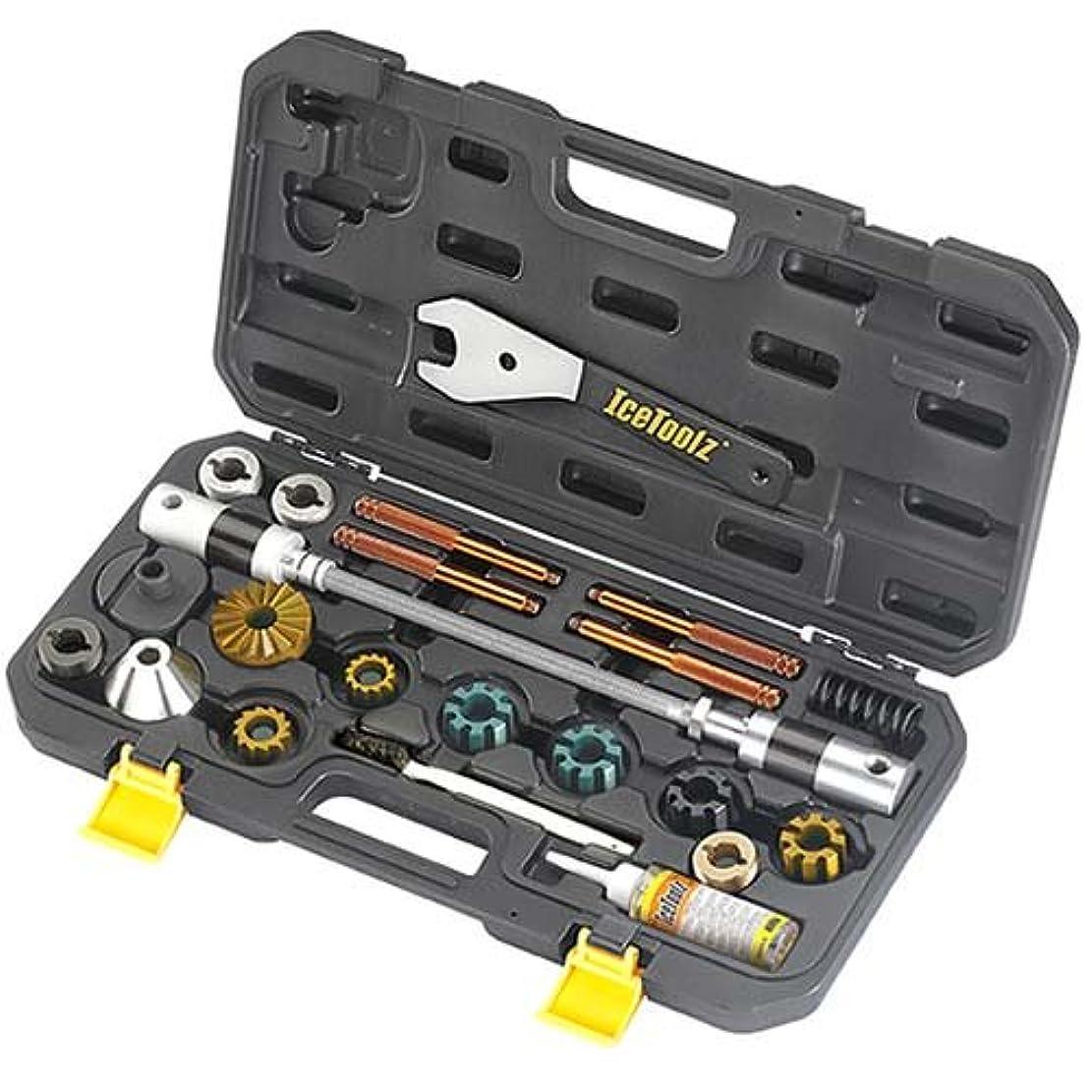 ペースト複雑な溝アイスツール E185 BB&ヘッドチューブフェーシングツール 152-10091
