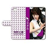 iPhone8/7 手帳型ケース 『西野七瀬』 ライブ Ver. IP8T084
