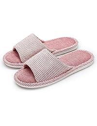 [Vinvo] スリッパ ルームシューズ 室内履き 春夏 麻 洗える 抗菌衛生 メンズ レディース