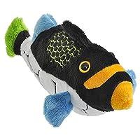Clown Triggerfish Pounce Pal Plush Stuffed Animal [並行輸入品]