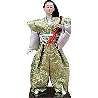 和風の伝統的な戦士忍者人形/ギフト/ジュエリー-A15