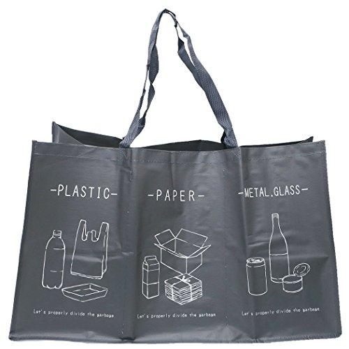 3連分別DUST BOX[アウトドア雑貨]ダストバッグ サンタン 便利 ゴミ箱 グッズ 通販