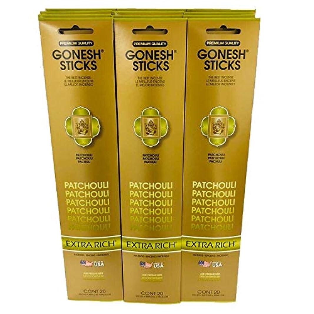 経過融合一人でGonesh インセンススティックエクストラリッチコレクション お徳用12本パック