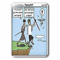 リッチDiesslins面白い漫画Gospel漫画–Spiritual Leaders–Trippingアウト–照明スイッチカバー–シングルトグルスイッチ( LSP _ 2622_ 1)
