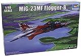 トランペッター 1/48 MiG-23MF フロッガー プラモデル