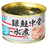キョクヨー 銀鮭中骨水煮 140g×24個
