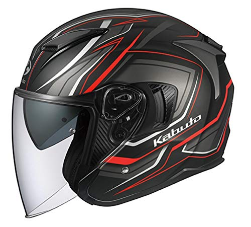 OGK KABUTO (オージーケーカブト)  バイクヘルメット ジェット EXCEED CLAW(クロー) フラットブラック (サイズ:XL) 581602 B07NP94HM7 1枚目