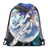 令和 新しい年号 Gundam 機動戦士ガンダム ナップサック ジムサック スポーツバック マルチバッグ ナップサック 通勤 通学 巾着袋 防水仕様 アウトドア 軽量 男女兼用 令和グッズ