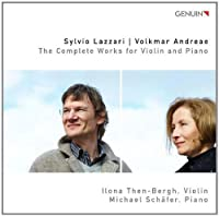 Complete Works for Violin & Piano by Ilona Then-Bergh (2010-03-30)