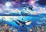2000ピース ジグソーパズル ラッセン ビート オブ ザ シー スーパースモールピース 【光るパズル】(38x53cm)