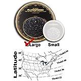 ミラー星座早見盤スターファインダー、サイズLarge–モデル22度–For Latitudes 15N to 25N