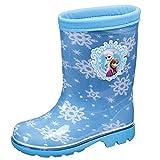 [ディズニー] レインブーツ 子供 靴 アナと雪の女王 ディズニー ロンプC63アナユキ