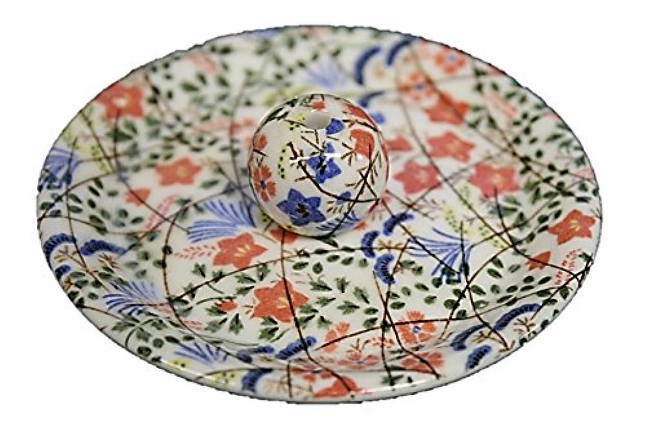 訪問国籍ポインタ9-16 錦織 はな野 9cm香皿 お香立て お香たて 陶器 日本製 製造?直売品