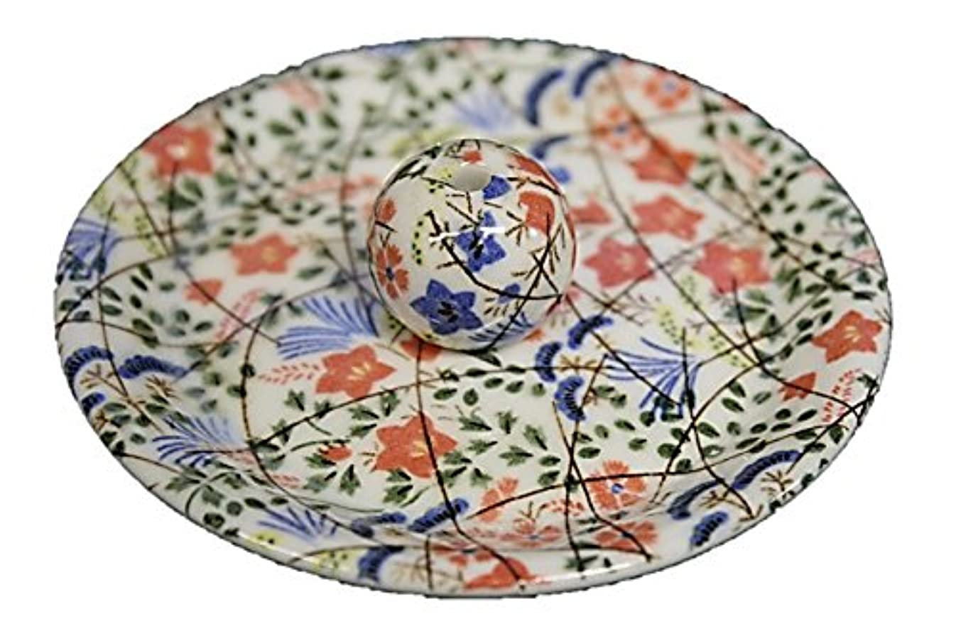 雪コンサート織る9-16 錦織 はな野 9cm香皿 お香立て お香たて 陶器 日本製 製造?直売品
