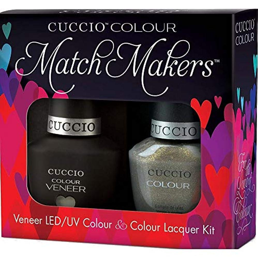 モーター皿興奮するCuccio MatchMakers Veneer & Lacquer - Olive You - 0.43oz / 13ml Each