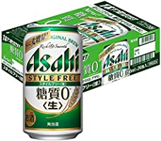 【糖質ゼロ】アサヒスタイルフリー [ ビール [ 350ml×24本 ] ]