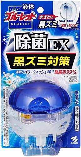 液体ブルーレットおくだけ除菌EX トイレタンク芳香洗浄剤 本体 パワーウォッシュの香り 70ml