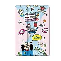 NeatClean iPad Pro11ケース 新しい iPad 2017 2018 9.7 インチ ケース 2018 第六世代 2017 第五世代 Pro10.5ケース Air2ケース Airケース 三つ折スタンド iPad mini4ケース mini3ケース mini2ケース miniケース アイパッドケース おしゃれ case カバー かわいい かっこいい 耐衝撃 魅力的 個性的 背面透明 アニメ キャラクター 子供 若者 (ipad mini1/2/3, A)