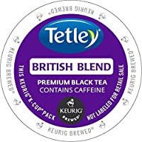 Tetley K-Cup Portion Pack for Keurig Brewers, British Blend, 96 Count by Tetley
