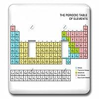 3drose LSP 76645_ 2パステル周期表Academic学校教育のギフト科学化学物理学教室ダブル切り替えスイッチ