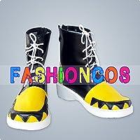 ★サイズ選択可★男性26.5CM UA0824 ソウルイーターSOUL EATER ソウル コスプレ靴 ブーツ
