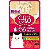 いなば チャオ まぐろ ささみ入り ほたて味 40g×16P [CIAO]