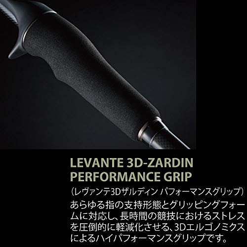 Details about Megabass Bait Rod Levante JP Multi Pieces 2019 F5-611LV 4P  From Styli From japan