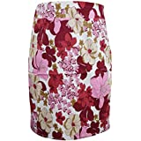 Bohemain Women Skirt Floral Hippy Gypsy Trim Rayon Gold Sequin Fashionista Summer Festive Skirts M